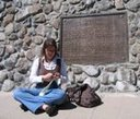 Crocheting Donner Memorial