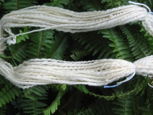 Close-up of yarn