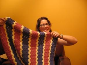 The Baby Blanket, Girl Version