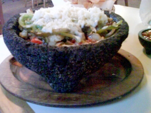 The Vegetable Molcajete