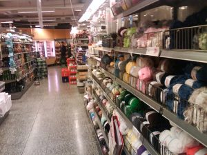 Yarn in the Swedish Grocery Store