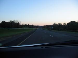 Photo taken while driving