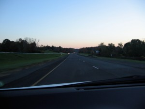 Photo taken while driving