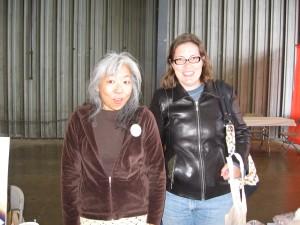 Sarah Jane and Doris Chan!