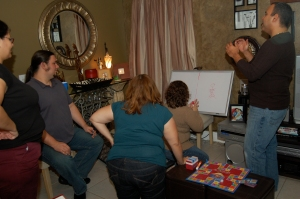 Pictionary is FUN!!