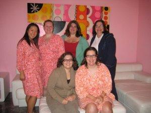 Lily, Kim, Denise, Tyra, Me, Becca