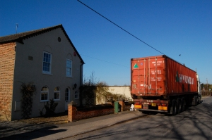 The Old Chapel and the container