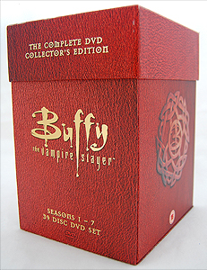 The complete Buffy the Vampire Slayer Boxed Set