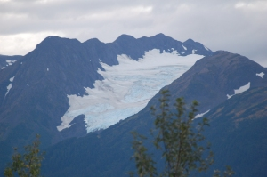 One of the many glaciers that we saw today