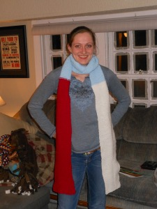 Kendra with Scarf 2